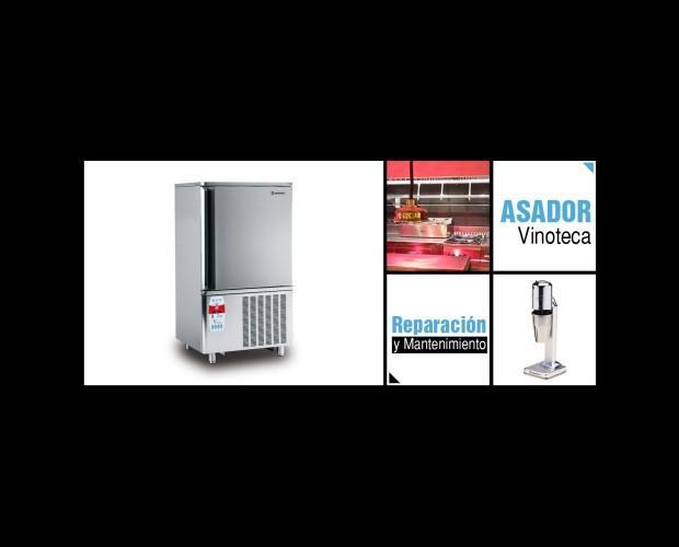Refrigerador. Variedad de equipamiento