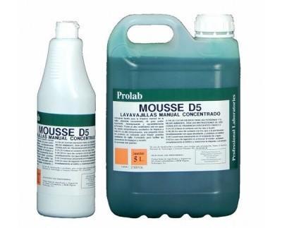 Lavavajilla manual. Detergente líquido para la limpieza manual de vajilla, altamente concentrado, de gran poder espumante, desengrasante y agradablemente...
