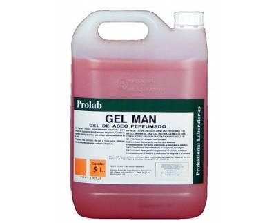 Gel de aseo perfumado. Gel líquido neutro especialmente diseñado para utilizar en aparatos dosificadores de jabón