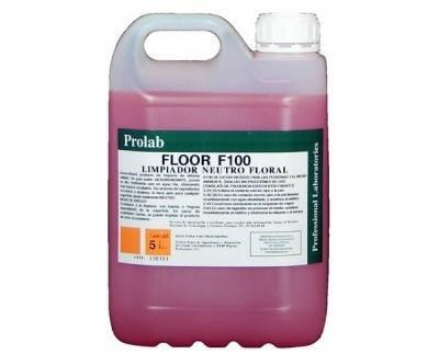 Limpiador neutro floral. Producto concentrado de limpieza de altísima calidad y elevado rendimiento