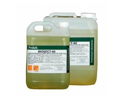 Limpiador repelente de insectos. Es un producto apto para la limpieza de todo tipo de suciedades