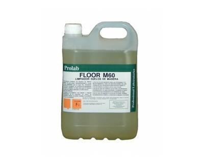 Limpiador suelos de madera. Limpiador jabonoso especial para superficies de madera
