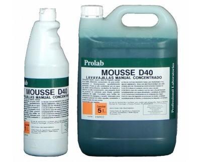 Lavavajillas manual concentrado. Detergente líquido neutro, para la limpieza manual de la vajilla, altamente concentrado
