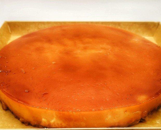 tarta del convento. Tarta de tocino de cielo de 1100 gr de peso sin gluten y sin lactosa