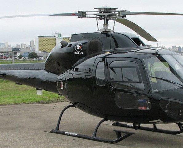 Helicóptero. Antibalas en todos los niveles balísticos.