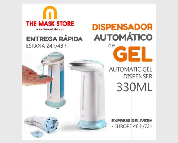 Dispensador de gel. Dispensador de gel