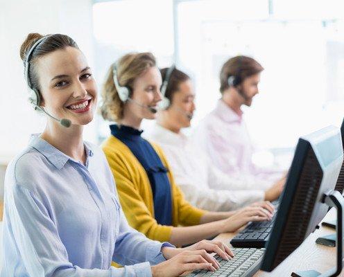 Call center. Contamos con personal cualificado