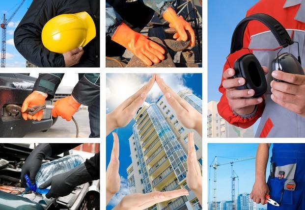 Equipamiento de Seguridad en el Trabajo.Industria y protección laboral.