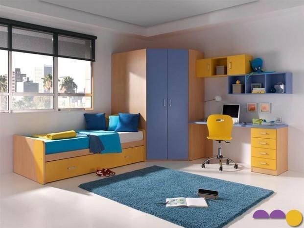 Muebles hogar. Juego dormitorio juvenil