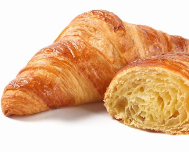 Croissant. Con mantequilla alta gama