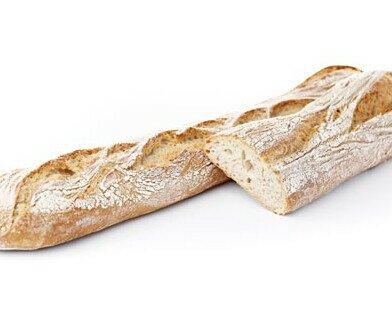 Pan congelado. Pan doble fermentación de la mejor calidad