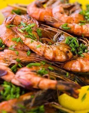 Mariscos. Todo tipo de frutos del mar
