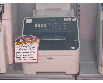 Fax Brother 2840. Fax láser monocromo de alta velocidad con función de copia