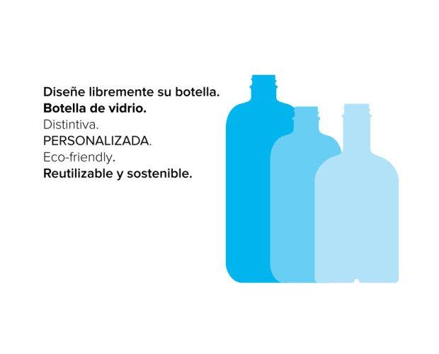 Diseñe su botella de agua. Reutilizable