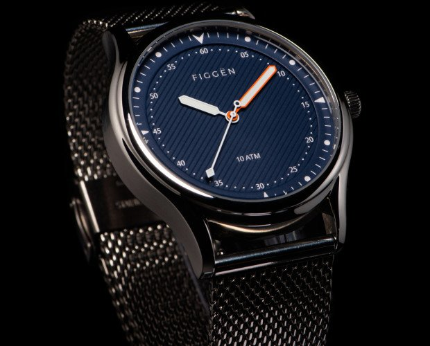 Relojes.Figgën Manhattan Series 897 | Blue
