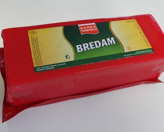 Barra de queso. Barra sándwich Extra Bredam
