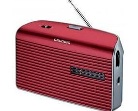 Radios Portátiles.Radio Red y Pilas en colores surtidos