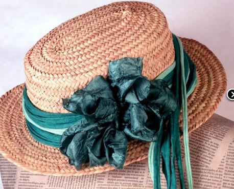 Sombreros.Complemento hecho a mano