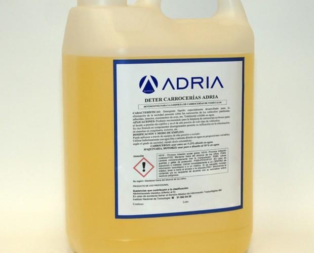 Productos de Limpieza. Productos para Lavado de Vehículos. Detergente para carrocerías ADRIA