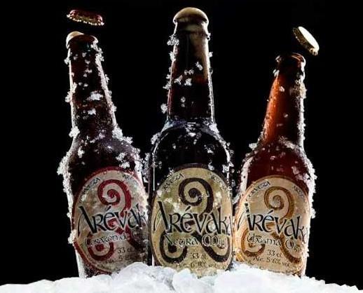 Arevaka. Cervezas Arévaka, Burgo de Osma (Soria).