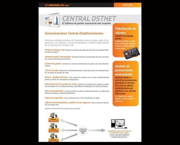 Central DSTNET. Controle todos sus establecimientos desde un solo sitio.