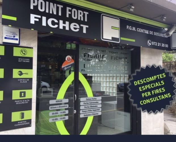 Fichet-Girona. Nuestra sede en Carrer del Carme