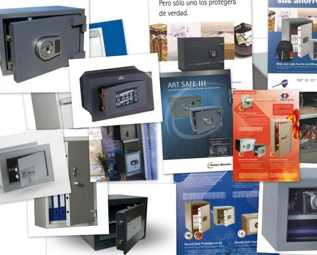 Cajas Fuertes.Gran variedad en cajas fuertes para todo tipo de comercios, industria y particulares.