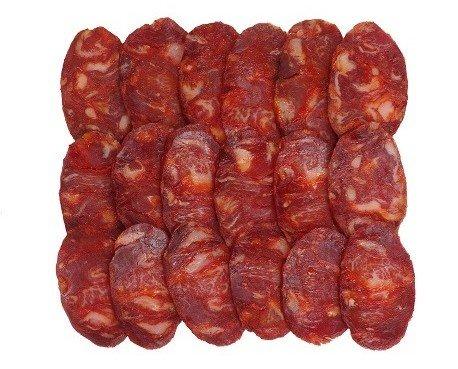Chorizo Ibérico . Cular Bellota Cortado A mano