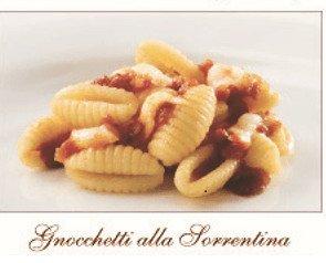 Gnocchetti Alla Sorrentina. Platos artesanales