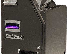 Cashdro2. Capacidad del reciclador 1.500 monedas