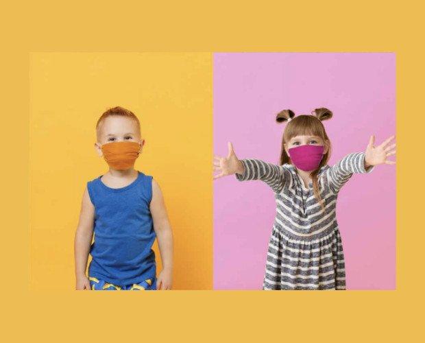 Mascarillas de tela para niños. Mascarillas de tela lavables para niños