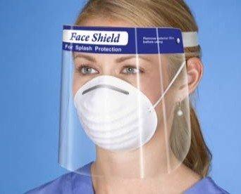 Pantalla Facial HLP. Pantalla Facial transparente como el cristal, capa anti-vaho y resistente a golpes