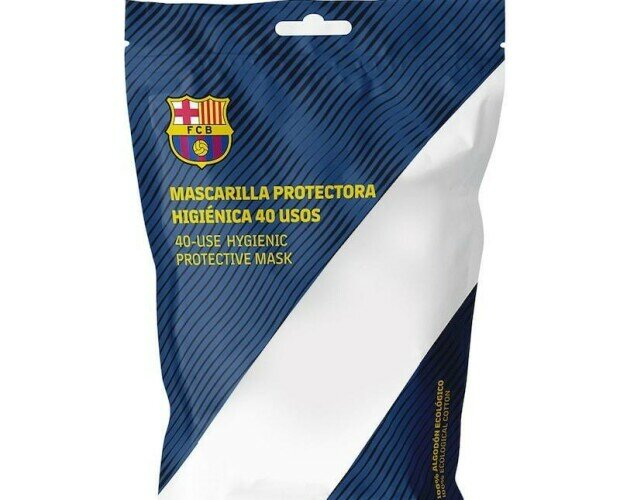 Mascarillas FC Barcelona. Mascarillas higiénicas reutilizables oficiales del FC Barcelona.