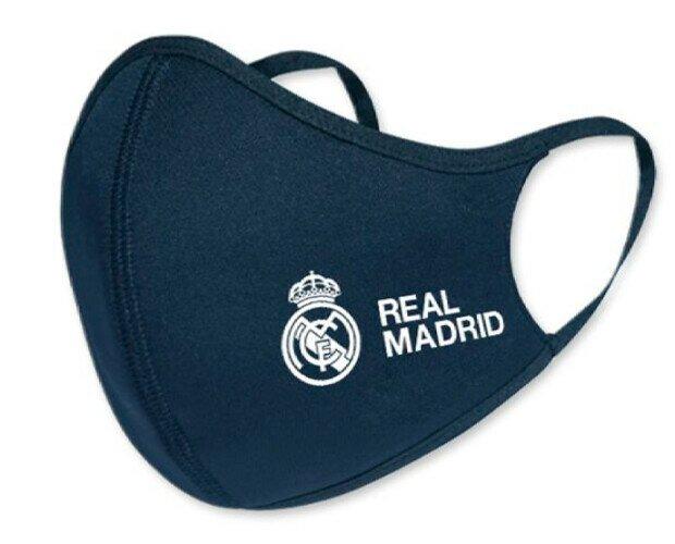 Mascarillas Real Madrid. Mascarillas higiénicas reutilizables oficiales del Real Madrid.