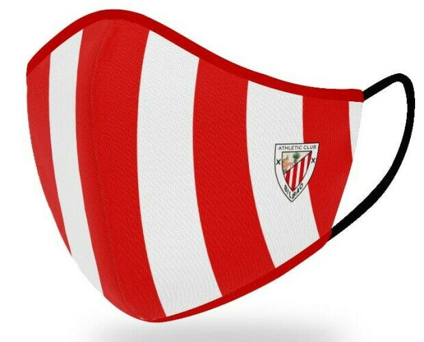 Mascarillas Athletic Bilbao. Mascarillas higiénicas reutilizables oficiales del Athletic Bilbao.