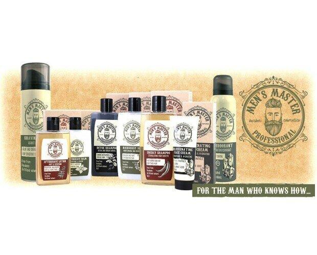 Men's Master. Los mejores productos en cosmética masculina de la mano de Men's Master.
