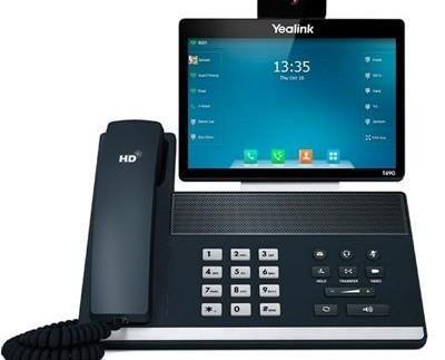 Teléfonos Fijos y Accesorios.El modelo de Yealink SIP VP-T49G es un modelo diseñado para permitir videoconferencia