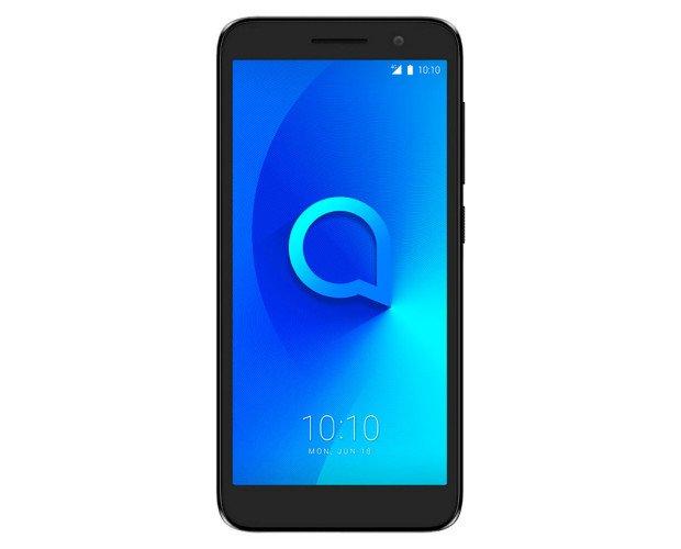 Alcatel. Teléfono móvil Alcatel 1 acabado en color negro metálico