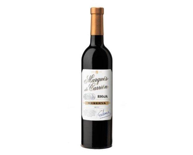Vino Tinto Rioja Reserva. Vino Tinto D.O. Rioja Reserva Marqués de Carrion