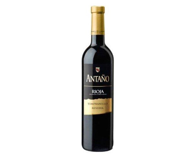 Vino Tinto Rioja Tempranillo. Vino Tinto D.O. Rioja Tempranillo Reserva Antaño