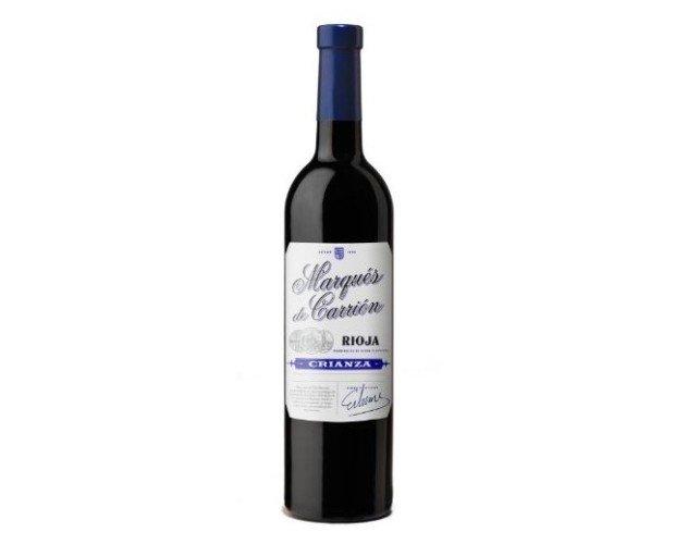 Vino Tinto Marqués de Carrión. Vino Tinto D.O Rioja Crianza Marqués de Carrión