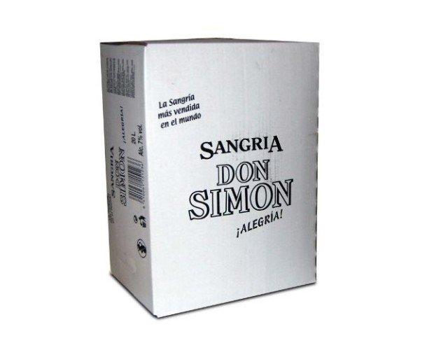 Sangría BagBox 20L. La sangría más vendida en el Mundo