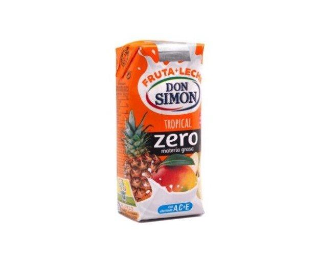 Don Simón Tropical Zero. Frutas cítrica y leche