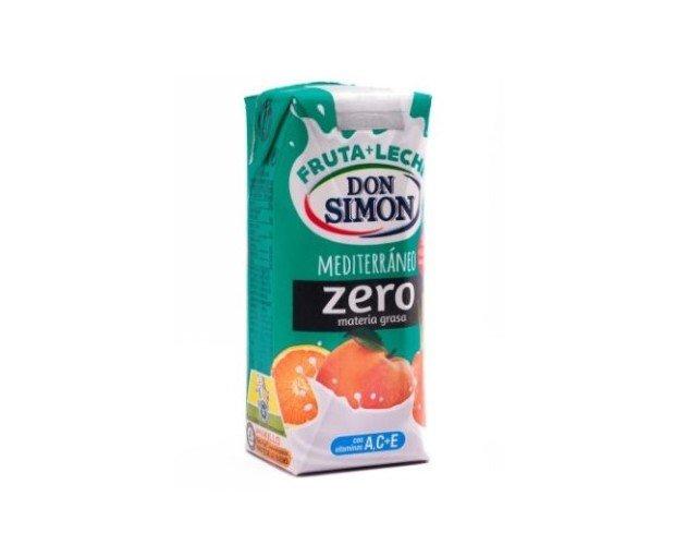 Don Simón Mediterráneo Zero. Leche Fruta Materia Grasa