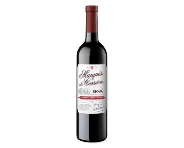Vino Tinto Marzqués de Carrión Rioja. Vendimia seleccionada. D.O Rioja
