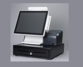 TPV Táctil Okpos I-1500 HD. Incluye impresora térmica y cajón portamonedas