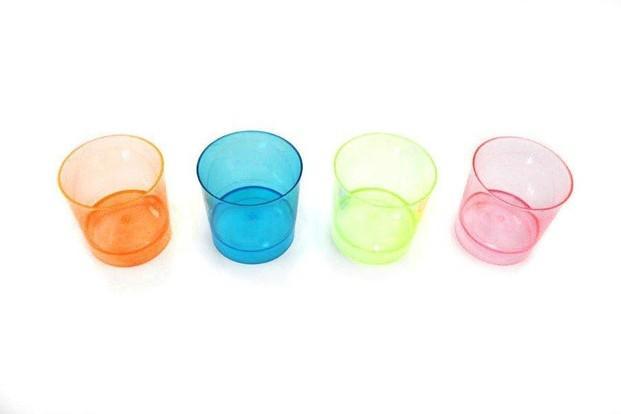 Chupito Reforzado. Vasos reforzados de chupito de varios colores