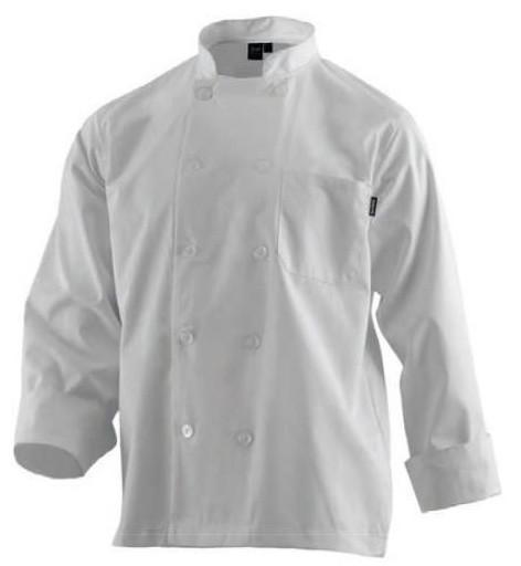 Casacas Cocinero. Casacas de cocina manga corta y larga Blanca/Negra