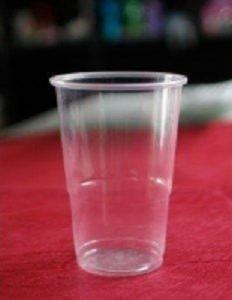 Vasos para Cerveza. Vaso de plástico transparente Varias capacidades