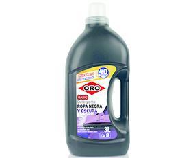 Detergente Ropa Negra Oro Basic 40D 3L. Detergente líquido especial para ropa negra y colores oscuros formulado con una base de baja agresividad para...
